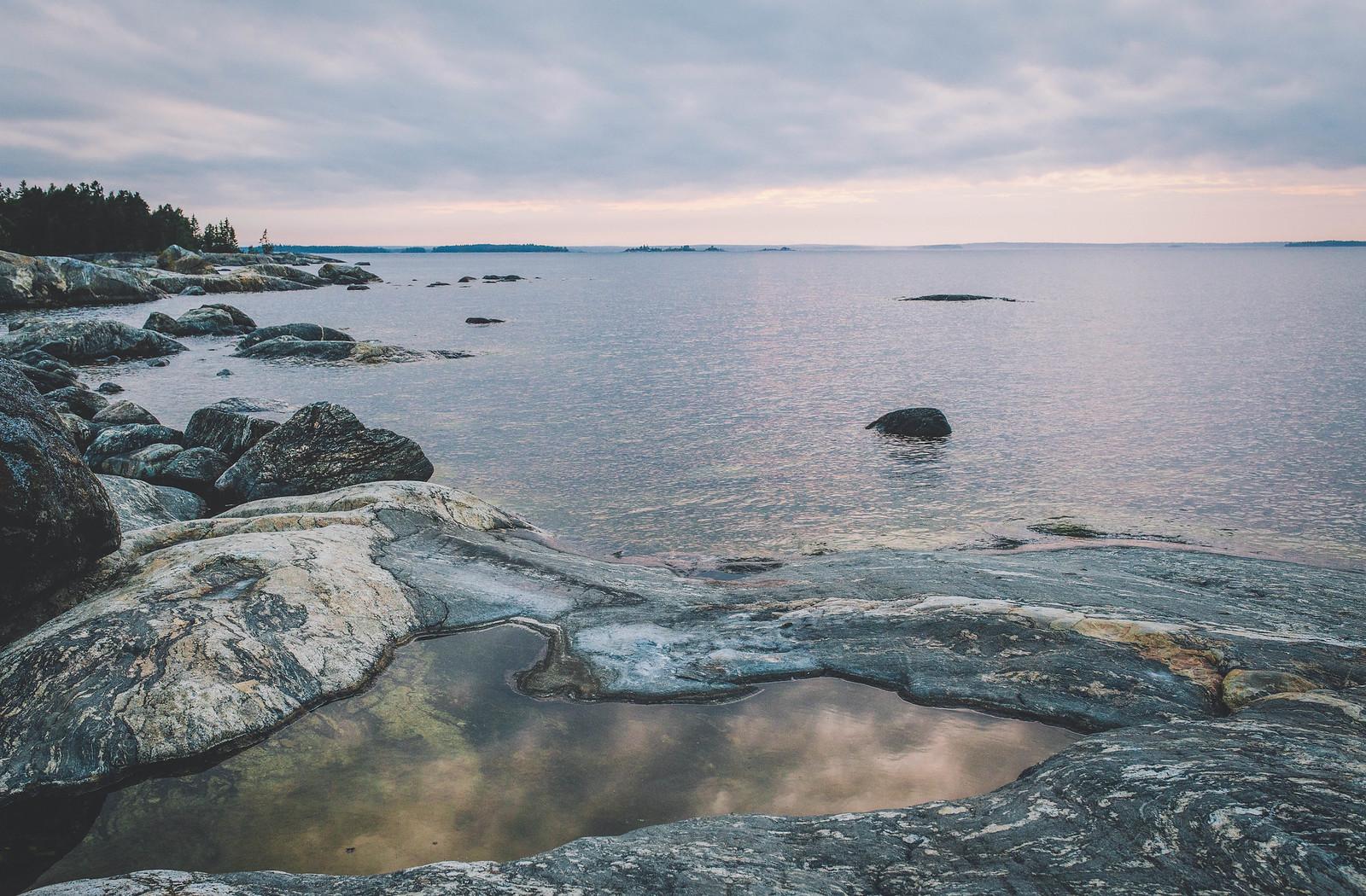 Klipporna vid havet