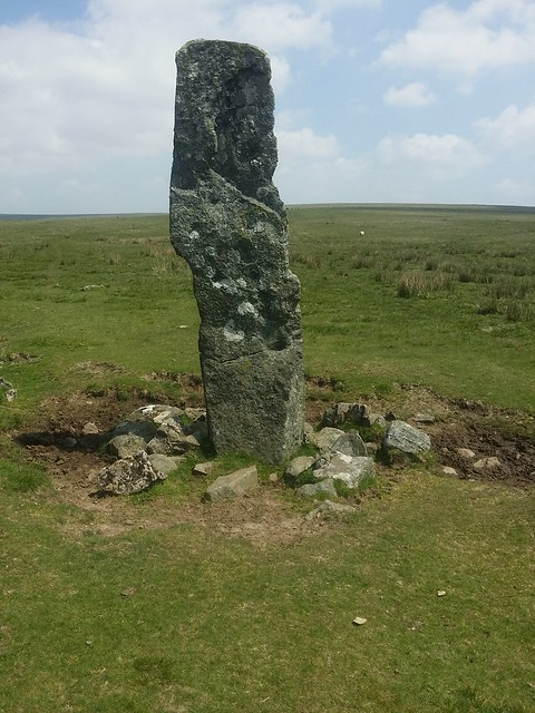 Standing Stone on Peter Tavy Great Common