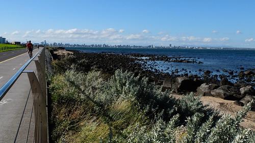 Hobson's Bay Coastal Trail, Melbourne