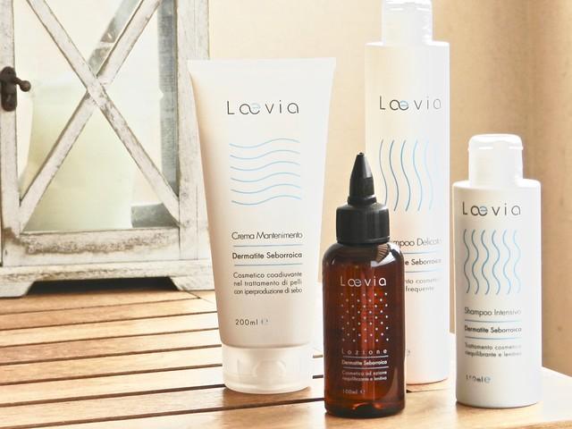 prodotti Laevia contro la dermatite seborroica