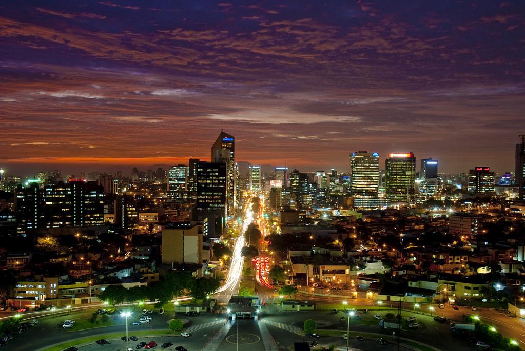 lima  peru  modern metropolis