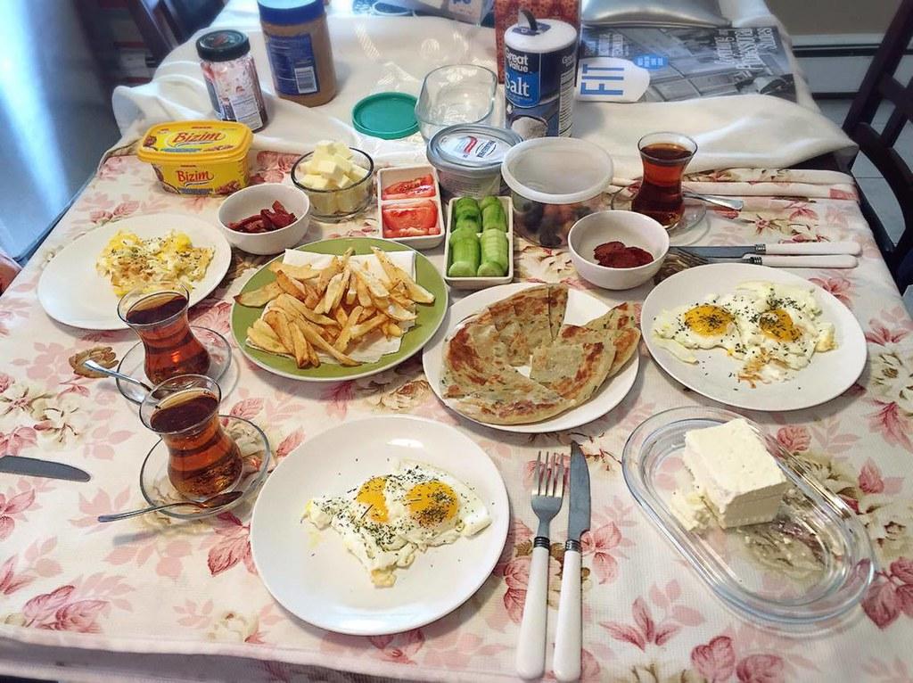 自家土耳其早餐