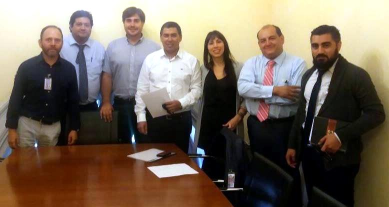 AFUDEP se reúne con diputados por Homologación de Práctica Profesional - 23 Junio 2016