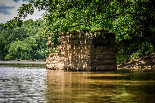 Goat Island in the Broad River-101