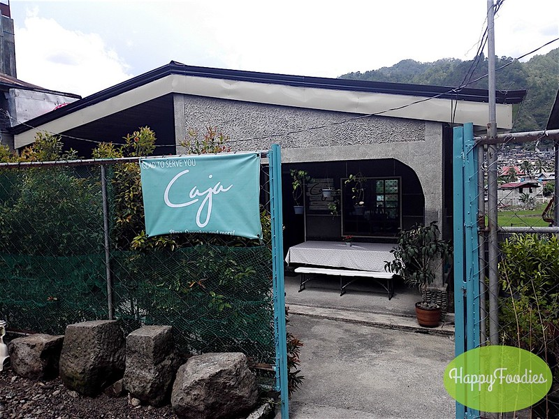 A house turned restaurant in Bontoc - Caja