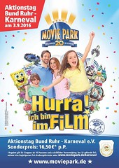 BRK-Aktionstag im Movie Park