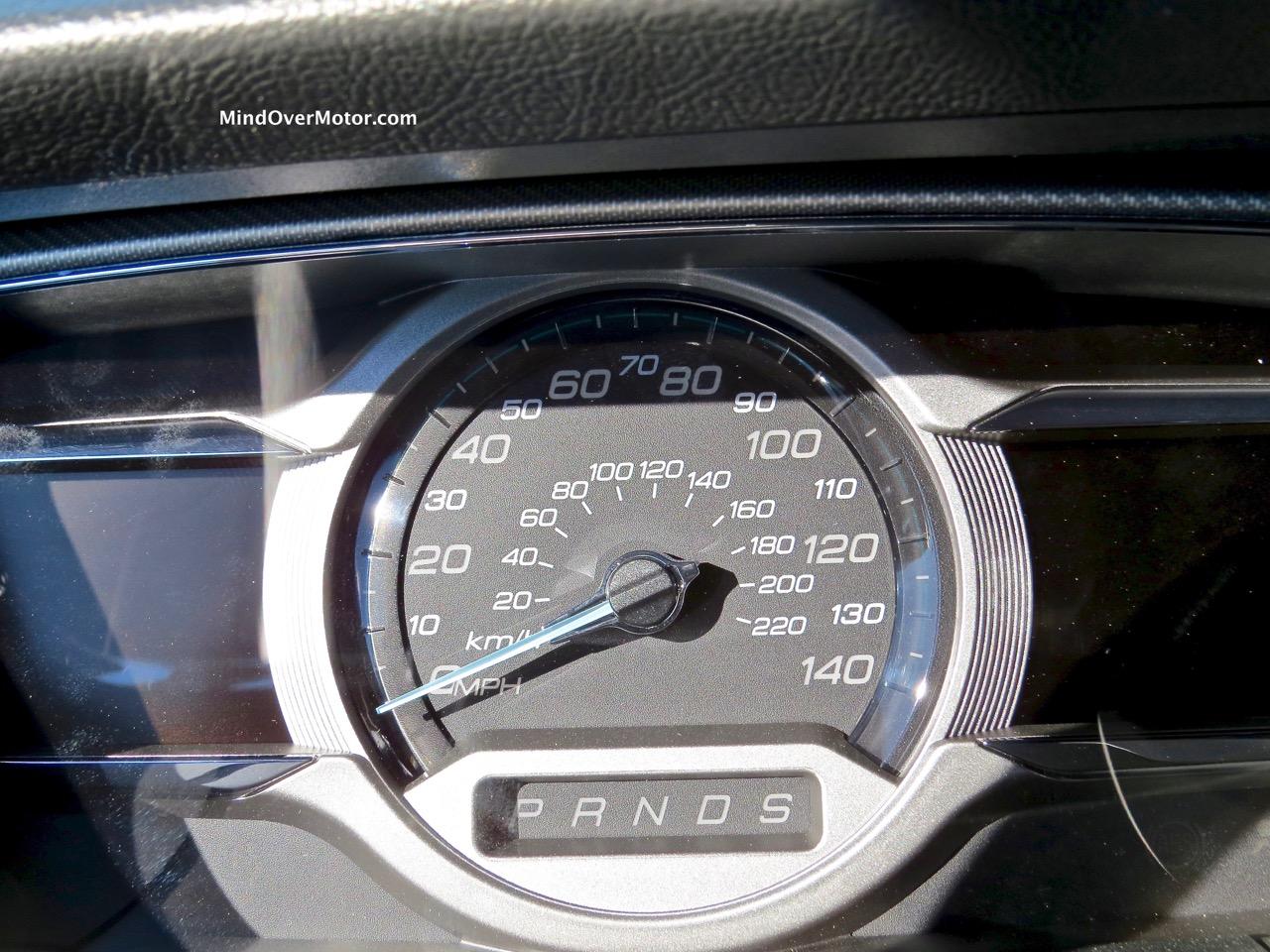 2015 Ford Taurus SHO Speedometer