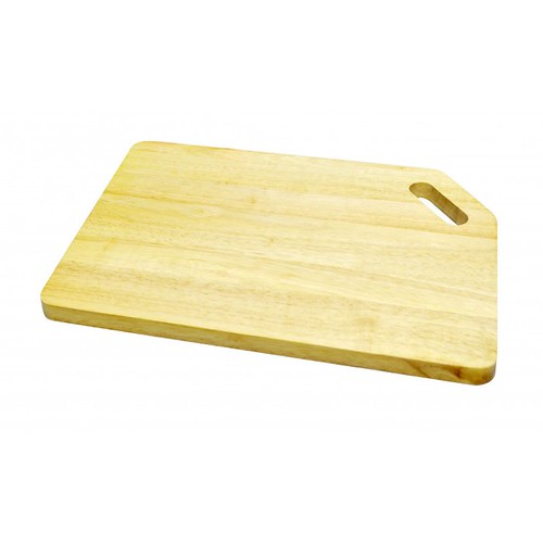 Thớt gỗ cao su mẫu số 3