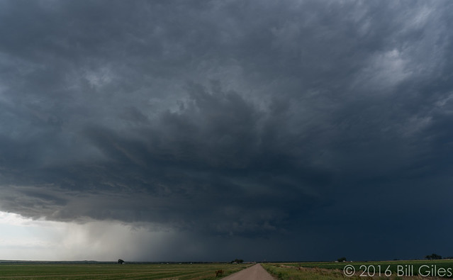 Supercell N of Hillrose, Colorado
