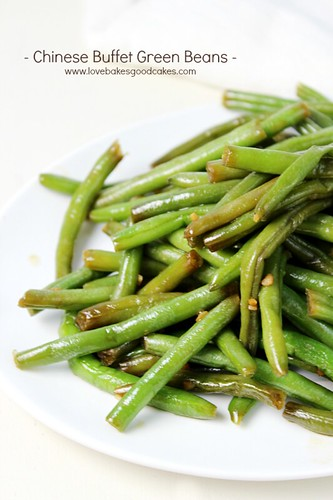recreate your favorite Chinese Buffet Green Beans at home! These beans ...