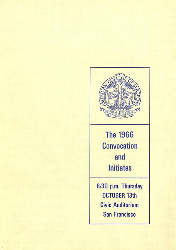 1966 Convocation Book