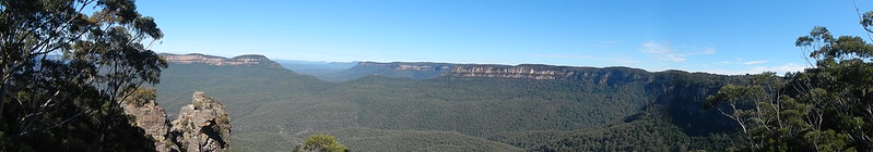 Panoramic from Echo Point