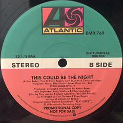 CINDY MIZELLE:THIS COULD BE THE NIGHT(LABEL SIDE-B)