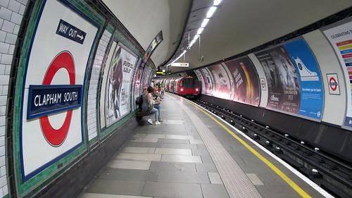 Clapham South Tube station, London Underground