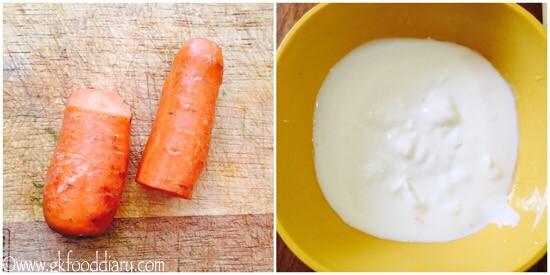 Carrot Raita Recipe for Toddlers and Kids