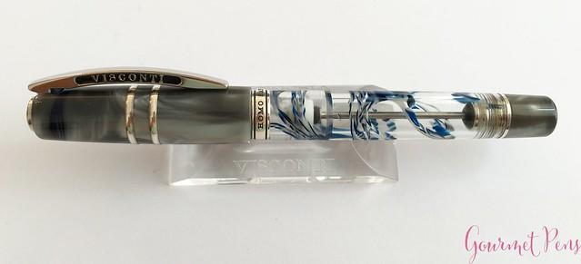 Review Visconti Homo Sapiens London Fog Fountain Pen @AppelboomLaren17