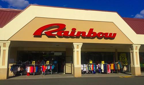 Rainbow clothing store app