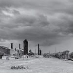 Approaching Storm - Evraz Steel Mill