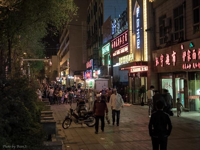 西寧市街・夜