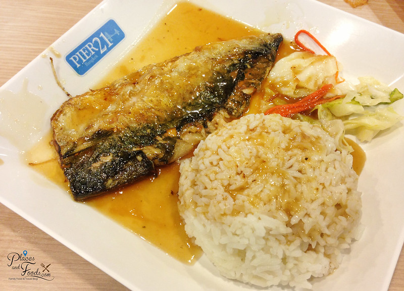 pier 21 terminal 21 food court rice with saba fish
