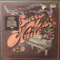 BARRY WHITE:THE MESSAGE IS LOVE(JACKET A)
