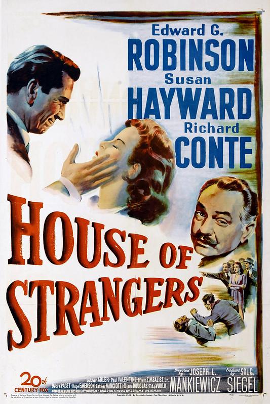 House of Strangers - Poster 1