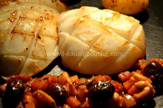 Seiches à la Plancha Sauce Piquante aux Olives Noires © Ana Luthi Tous droits réservés 35