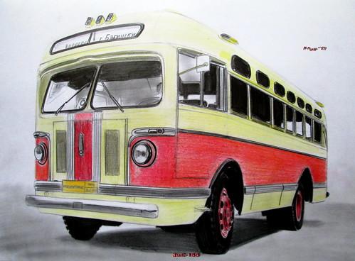 Компенсационные автобусы в районе улицы Нижние Мневники
