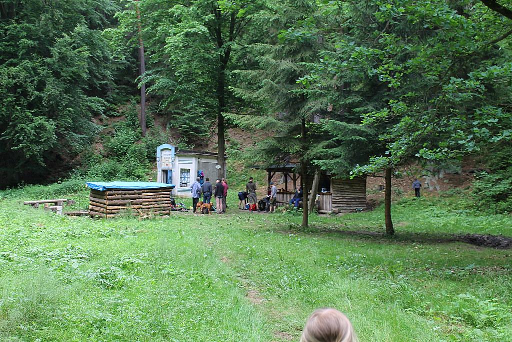 Water station in Dolské údolí, Roklice