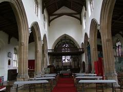 Methwold, Norfolk, St George, interior looking east