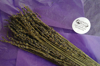 Eat Well Farms - Dried lavenders unwrapped