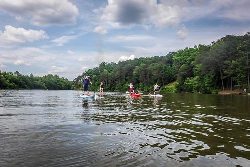Kayaking and SUP on Saluda Lake-37