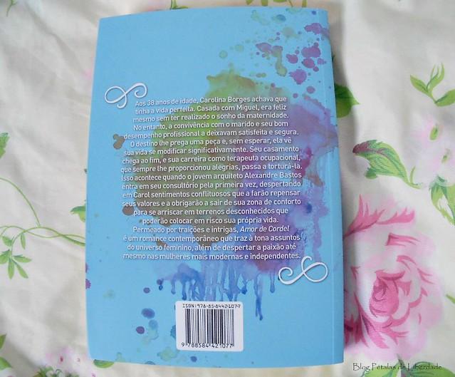 Resenha, livro, Amor-de-cordel, Andrea-Marques, Pandorga-Editora, opiniao, trechos, fotos, contracapa, sinopse