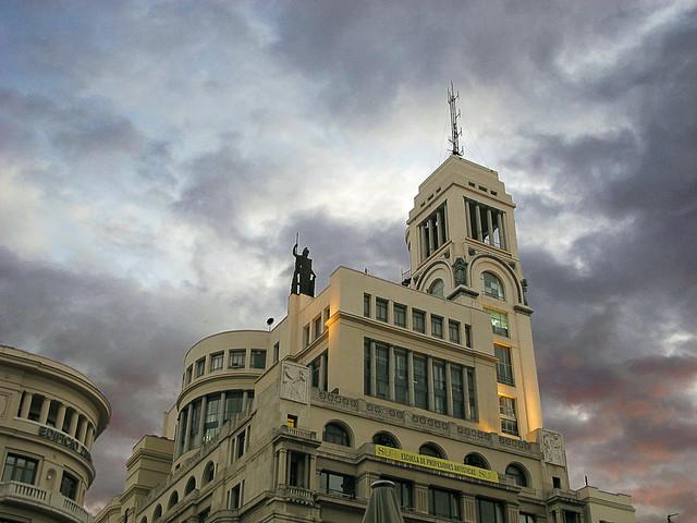 Estatua de Atenea * Círculo de Bellas Artes (Madrid)