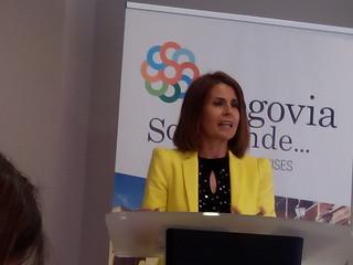 Magdalena Rodríguez, Diputada de Turismo de Segovia.