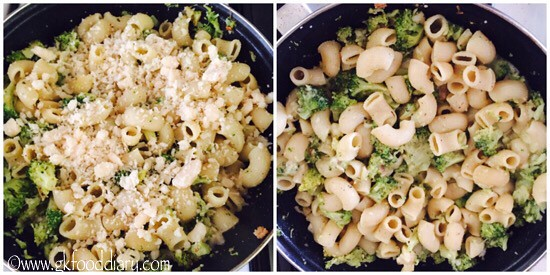 Broccoli Pasta Recipe for Babies, Toddlers and Kids - step 6