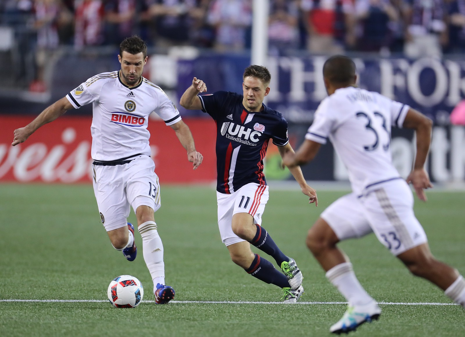 2016 MLS Regular Season: Revolution vs. Philadelphia Union | August 13