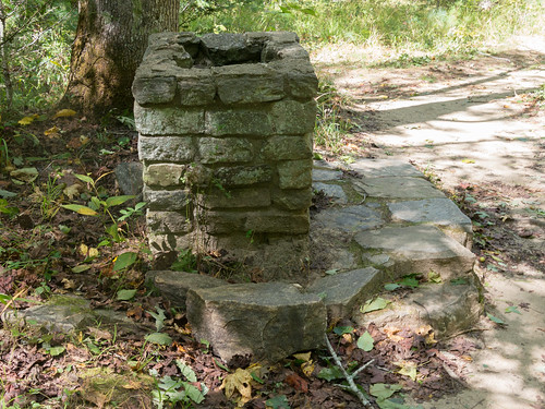 Drinking fountain ruins - 1