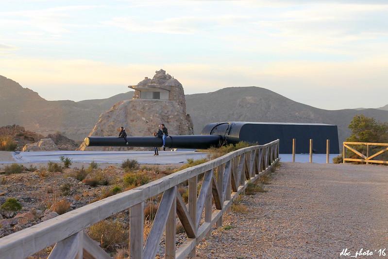 Batería de Castillitos en Murcia
