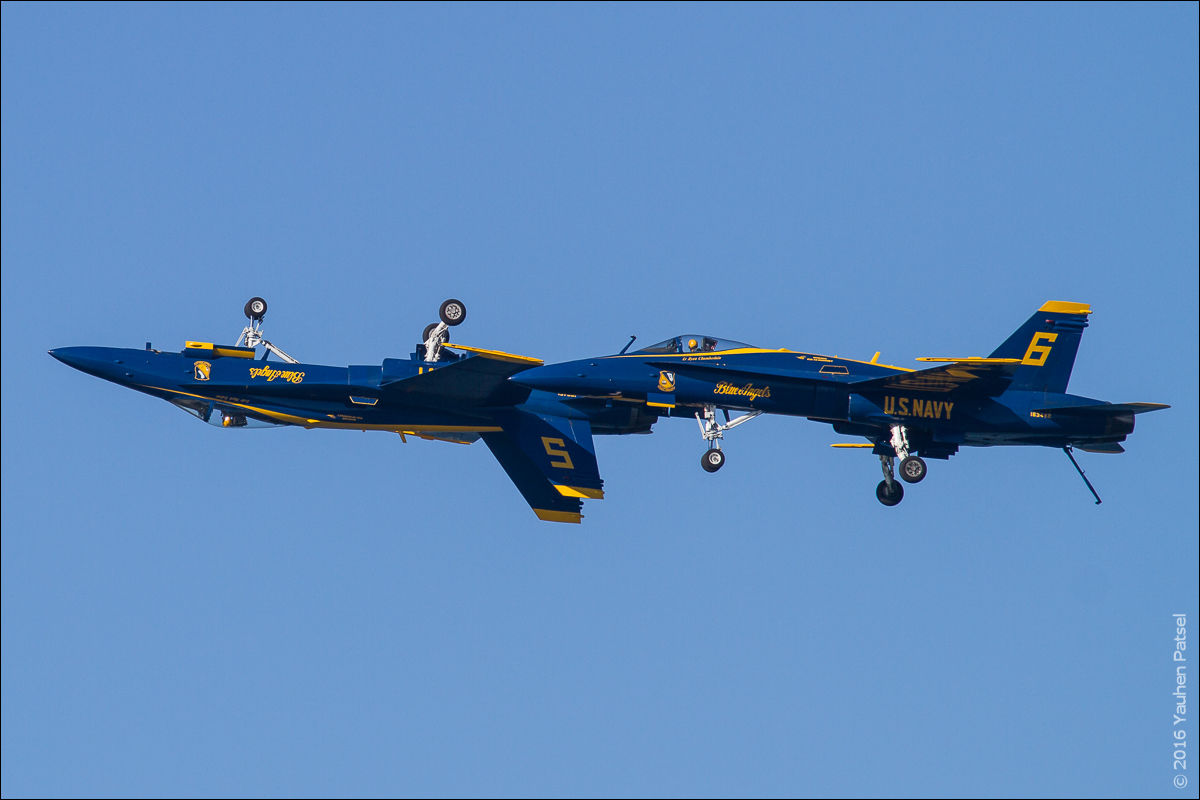 Blue Angels #5 and #6