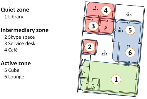Info centre floor plan