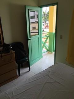 Hotel Guayacan - Bacony door / Balkontür