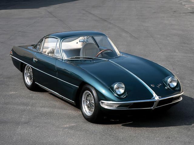 Lamborghini 350 GTV 1963 год. Первый автомобиль Ламборгини