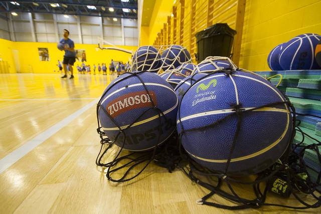 XIX Campus La Cima del Baloncesto. Visita de Jaime Fernández y más