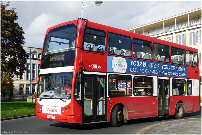 Plymouth Citybus 410 PL51LFE