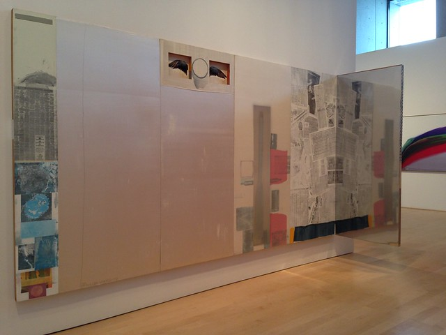Robert Rauschenberg, Opal Reunion, 1976, Hunter Museum of Art, Chattanooga TN