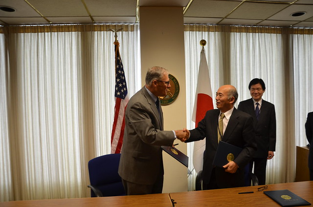 Meeting with Japan Ambassador to the U.S. Kenichiro Sasae