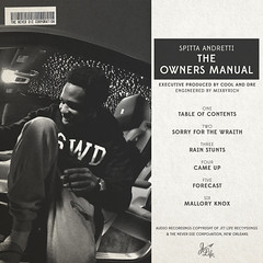 Curren$y - The Owner's Manual (Back)