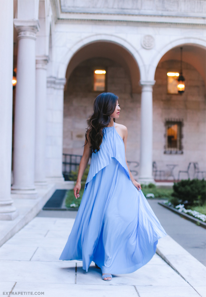 asos maxi dress_boston public library_extra petite blog