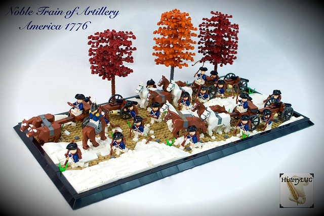 Noble Train of Artillery, America 1776